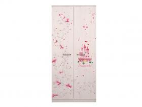 Детская модульная Принцесса 01 Шкаф для одежды 802х1823х546 мм