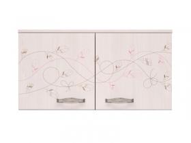 Детская модульная Принцесса 02 Антресоль к шкафу 802х436х546 мм