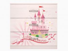 Детская модульная Принцесса 03 Комод 802х767х483мм