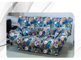 Диван Галант Д2 пружинный блок Цветы DC 1605-110