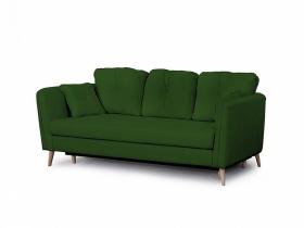 Диван-кровать Анталия-2 Вариант 1 Зеленый велюр