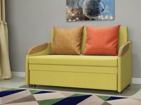 Диван-кровать Громит арт. ТД-130 горчичный