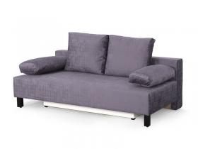 Диван-кровать Маркиз-2 Вариант 3 Фиолетовый велюр