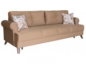 Диван-кровать Мирта арт. ТД-308-1 медово-коричневый