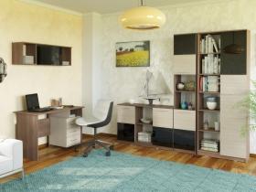 Домашний офис Брайтон Ясень Шимо темный-Ясень Шимо светлый