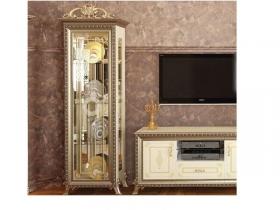 Гостиная классическая Версаль ГВ-01 Шкаф 1-дверь без Короны