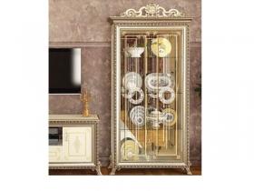 Гостиная классическая Версаль ГВ-02 Шкаф 2-двери без Короны