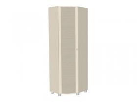 Гостиная Оливия беленый дуб комбинированный ШК-305 Шкаф для одежды и белья 2172х670х670