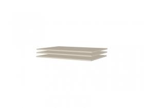 Гостиная Оливия Дуб Беленый ПЛ-105 Полки 3 шт 864х554