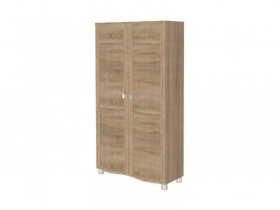 Гостиная Оливия Дуб Сонома ШК-311 Шкаф для одежды и белья 1676х896х396