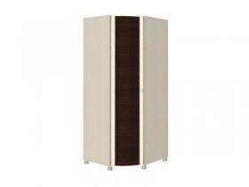 Гостиная Роберта дуб беленый комбинированный ШК-204 Шкаф для одежды и белья 2172х891х891