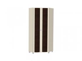 Гостиная Роберта дуб беленый комбинированный ШК-206 Шкаф для одежды и белья 2172х856х856