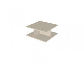 Гостиная Роберта дуб беленый комбинированный СТ-301 Стол журнальный 345х700х700