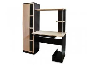 Компьютерный стол СВ-1 Дуб Венге-Дуб Млечный