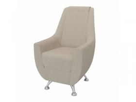 Кресло-банкетка Лилиана 6-5121ТК ткань бежевая