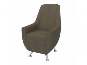 Кресло-банкетка Лилиана 6-5121ТК ткань коричневая