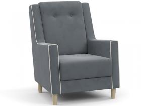 Кресло для отдыха Айрин арт. ТК-326 стальной серый