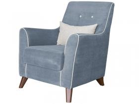 Кресло для отдыха Френсис арт. ТД-513 стальной серый