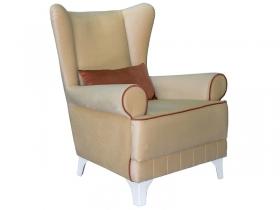Кресло для отдыха Каролина арт. ТК-119 золотистый бежевый