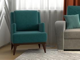 Кресло для отдыха Концепт арт. ТК-133 сине-зеленый