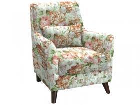 Кресло для отдыха Либерти арт. ТК-209-1 лилии цветные