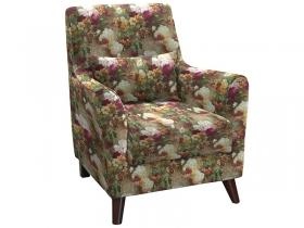 Кресло для отдыха Либерти арт. ТК-210-1 яркие цветы