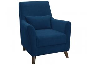 Кресло для отдыха Либерти арт. ТК-225 темно-синий сапфировый