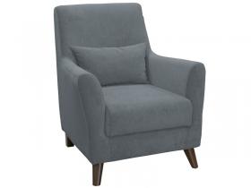 Кресло для отдыха Либерти арт. ТК-226 стальной серый