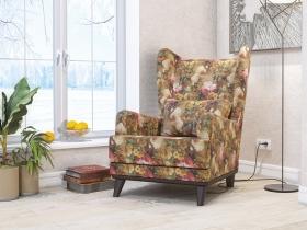 Кресло для отдыха Оскар арт. ТК-306-1 яркие цветы