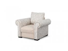 Кресло для отдыха Цезарь Вариант 2 Бежевый велюр