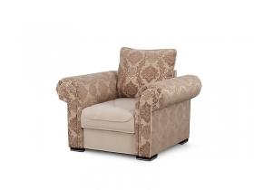 Кресло для отдыха Цезарь Вариант 3 Коричневый велюр