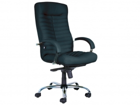 Кресло для руководителя Orion Steel Chrome PU01 черное
