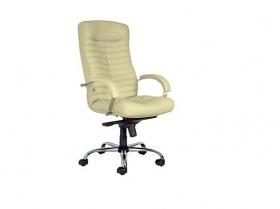 Кресло для руководителя Orion Steel Chrome PU16 бежевое