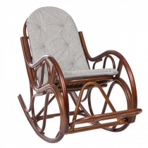 Кресло-качалка Classic MI-001 коньяк