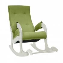 Кресло-качалка модель 707 Verona Apple green дуб шампань