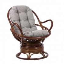 Кресло-качалка Swivel Rocker коньяк