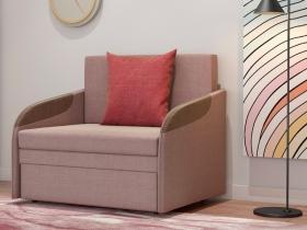 Кресло-кровать Громит арт. ТД-132 серо-розовый