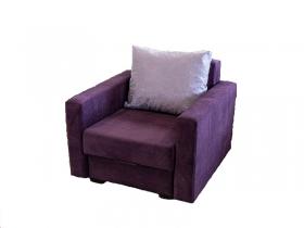 Кресло-кровать Соната ЕД1 Teddy 07 фиолетовый-Marco Polo Lavander