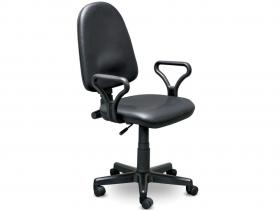 Кресло офисное Prestige Lux gtpPN Z11 кожзам черный