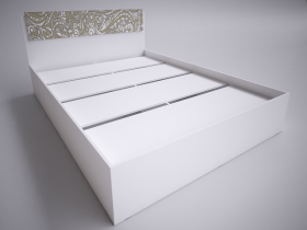 Кровать 1,4 Селена ШхВхГ 1440х882х2052 мм