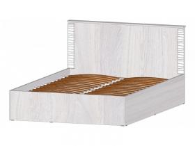Кровать 1400 с ПМ Ривьера анкор светлый
