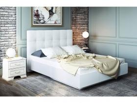 Кровать 1,6 Сонум с ПМ Nice White