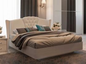 Кровать 1600 с ортопедическим основанием Альпина КР-22-32-16 Бодега белая-Prona 2655