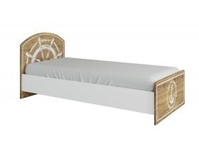 Кровать 900 Юнга КРД 900.1 Спальное место 900х2000 ШхВхГ 970х900х2032 мм