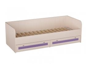 Кровать Бриз Кр-41 Фиолетовый