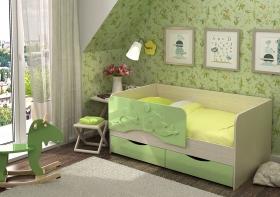 Кровать детская Алиса КР-813 1800 Белфорт/Салат