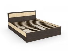 Кровать Дуэт Эко Венге-Дуб млечный