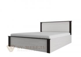 Кровать двойная 160-200 Гамма 20 венге-сандал