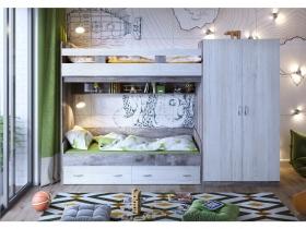 Кровать двухъярусная Юта