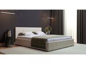 Кровать двуспальная Синди с подъемным механизмом белый